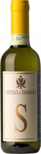 Вино Castello di Tassarolo, Gavi Tassarolo DOCG, 2014, 0.375 л