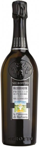 """Игристое вино Merotto, """"La Primavera di Barbara"""", Valdobbiadene Prosecco Superiore DOCG"""