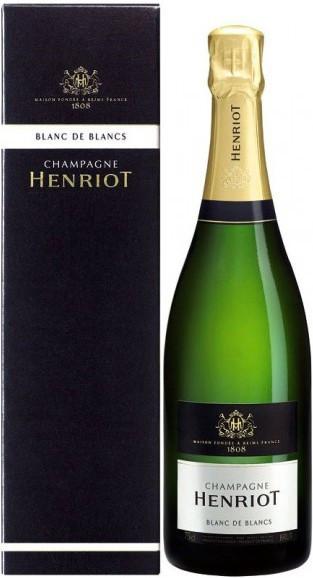 Шампанское Henriot, Brut Blanc de Blancs, gift box