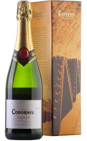 Кава Codorniu Clasico Cava Brut gift box 0.75л