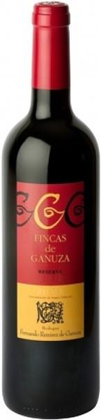 Вино Fincas de Ganuza Reserva Rioja DOC 2002