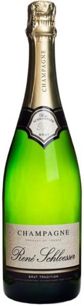 Шампанское Rene Schloesser, Brut Tradition
