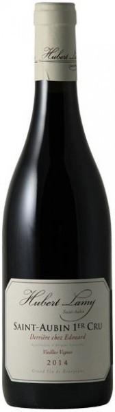 "Вино Domaine Hubert Lamy, Saint-Aubin 1er Cru ""Derriere Chez Edouard"" AOC Vieilles Vignes, 2014"