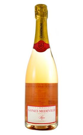 Шампанское Gonet Medeville Extra Premier Cru Brut Rose 0.75л