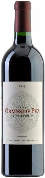 Вино Chateau les Ormes de Pez Saint-Estephe AOC 2007