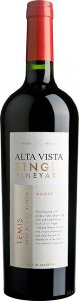 "Вино Alta Vista, Single Vineyard ""Temis"" Malbec, 2011"