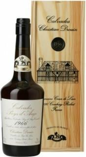 Кальвадос Coeur de Lion Calvados Pays d`Auge 1966, wooden box, 0.7 л