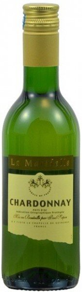 """Вино Paul Sapin, """"Le Maridelle"""" Chardonnay semi-dry, 0.187 л"""