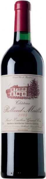 Вино Chateau Rolland-Maillet, Saint-Emilion Grand Cru AOC, 2005
