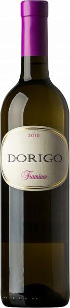 Вино Dorigo, Traminer, Colli Orientali del Friuli DOC, 2010