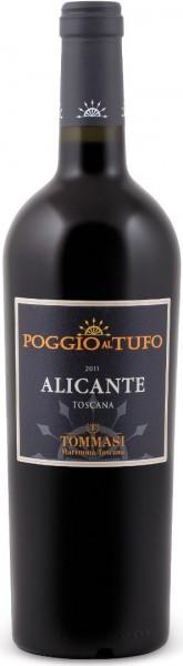 Вино Tommasi, Poggio al Tufo, Alicante, Maremma Toscana IGT, 2011