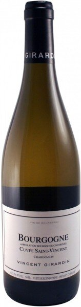 "Вино Vincent Girardin, Bourgogne Chardonnay ""Cuvee Saint-Vincent"", 2012"