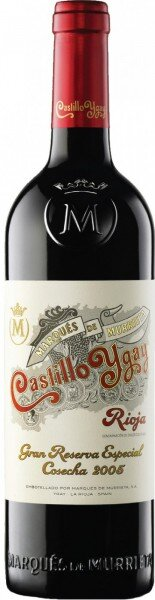 Вино Marques de Murrieta, Castillo Ygay Gran Reserva Especial, 2005