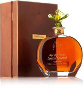 "Коньяк Leopold Gourmel, ""Age Des Fleurs"", Carafe & oak box, 0.7 л"