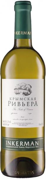 "Вино Inkerman, ""Crimean Riviera"" White"