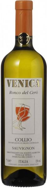 """Вино Venica & Venica, Sauvignon Collio DOC """"Ronco del Cero"""", 2015"""