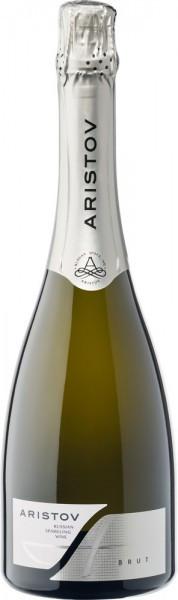 "Игристое вино ""Aristov"" Blanc Brut"