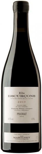 """Вино Mas Martinet, """"Els Escurcons"""", Priorat DOQ, 2010"""