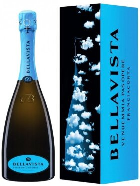"Игристое вино Bellavista, Franciacorta Gran Cuvee ""Pas Opere"", 2009, gift box"