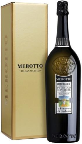 """Игристое вино Merotto, """"La Primavera di Barbara"""", Valdobbiadene Prosecco Superiore DOCG, gift box"""