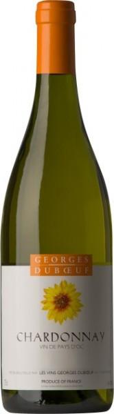 Вино Georges Duboeuf, Chardonnay, Vin de Pays d'Oc, 2014
