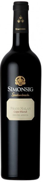 """Вино Simonsig, """"Frans Malan"""", 2015"""