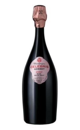 Шампанское Gosset Celebris Rose Extra Brut 2003 0.75л