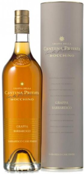 "Граппа Bocchino, ""Cantina Privata"" Barbaresco, Barbaresco Cask Finish, gift tube, 0.7 л"