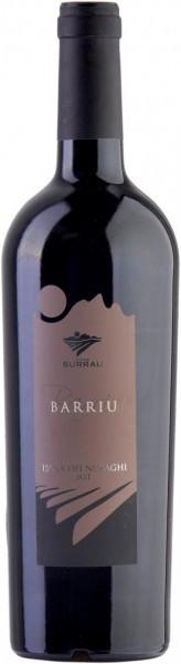 """Вино Surrau, """"Barriu"""", Isola dei Nuraghi IGT, 2011"""