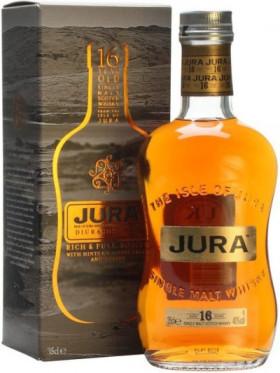 Виски Isle Of Jura, 16 years old, gift box, 0.35 л