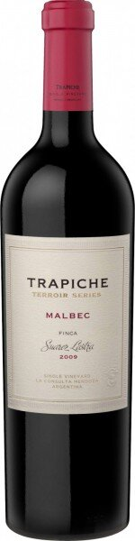 """Вино Trapiche, """"Terroir Series"""" Malbec, Finca Suarez Lastra, 2009"""