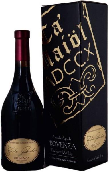 """Вино Provenza, """"Fabio Contato"""", Garda DOC Classico Rosso, 2009, gift box"""
