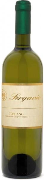 """Вино Gavioli, """"Sergavio"""" Bianco IGT, 2008"""