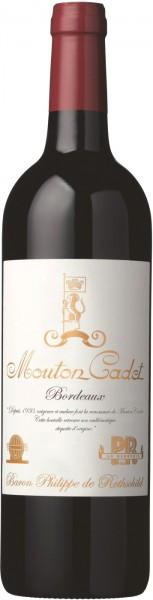 """Вино """"Mouton Cadet"""" Edition Vintage, Bordeaux AOC, 2013, 1.5 л"""