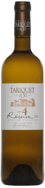 """Вино Domaine du Tariquet, """"Les 4 Reserve"""", Cotes de Gascogne VDP, 2012"""