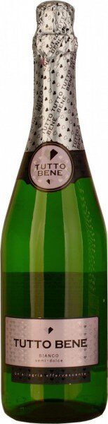 "Игристое вино ""Tutto Bene"" Bianco Semi-Dolce"