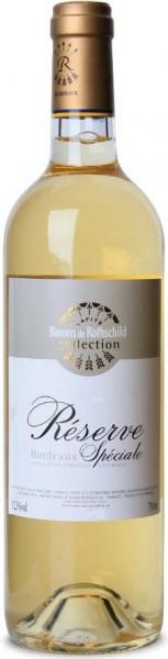 "Вино Domaine Barons de Rothschild, ""Reserve Speciale"" Blanc, Bordeaux AOC, 2013"