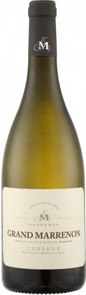 "Вино Marrenon, ""Grand Marrenon"" Blanc, Luberon AOC, 2014"