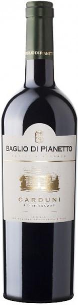"""Вино Baglio di Pianetto, """"Carduni"""" Petit Verdot, Sicilia IGT, 2005"""