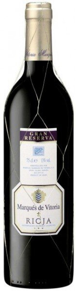 Вино Marques de Vitoria, Gran Reserva, Rioja DO, 2005
