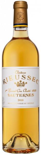 Вино Chateau Rieussec, Sauternes AOC 1-er Grand Cru Classe, 2010, 0.375 л