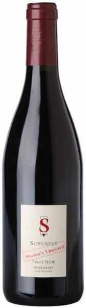 "Вино Schubert Pinot Noir Marion's Vineyard ""Wairarapa"", 2010"