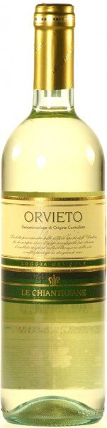 "Вино Chiantigiane, ""Loggia Del Sole"", Orvieto DOC, 2011"