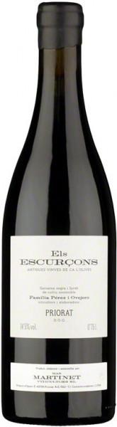 """Вино Mas Martinet, """"Els Escurcons"""", Priorat DOQ, 2006"""