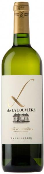 """Вино Andre Lurton, """"L"""" De La Louviere Blanc, 2007"""