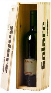 Вино Solare Vino da Tavola di Toscana Rosso IGT Sangiovese 2000