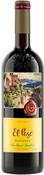 """Вино """"El Paso"""" Sauvignon Semidulce"""