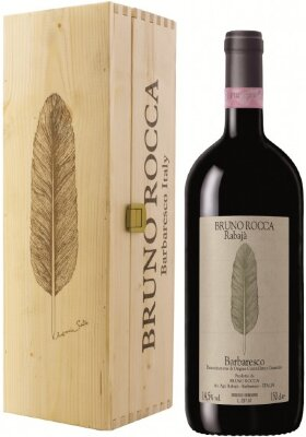 Вино Rabaja di Bruno Rocca, Barbaresco DOCG, 2011, wooden box, 1.5 л