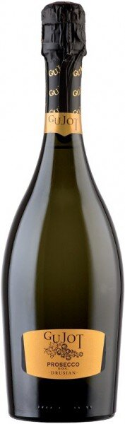 Игристое вино Drusian, Spumante Gujot Extra Dry, Prosecco DOC, 2013