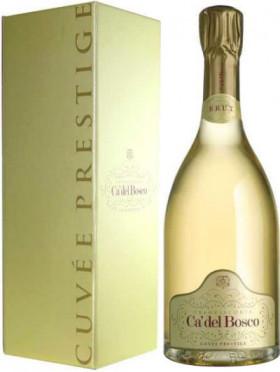 Игристое вино Franciacorta Brut DOCG Cuvee Prestige, gift box